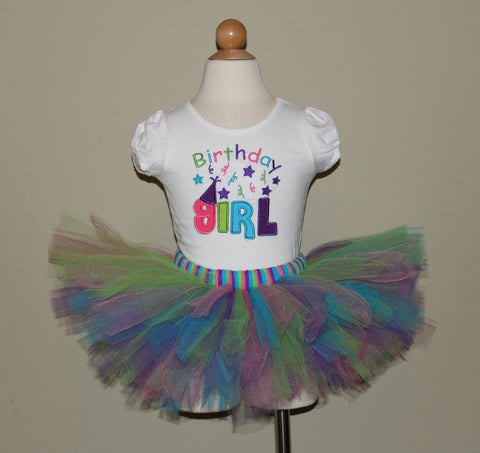 Birthday Girl Tutu Set