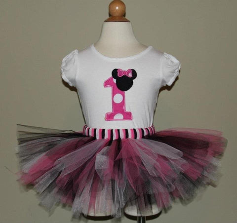 Minnie Mouse Tutu Set (Available in 1-9)