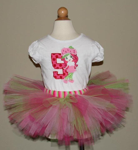 Strawberry Shortcake Tutu Set (Available in 1-5)