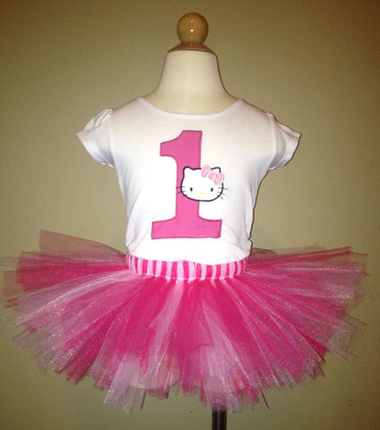 Hello Kitty Tutu Set (Available in 1-9)