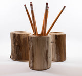 Driftwood Pencil Holder