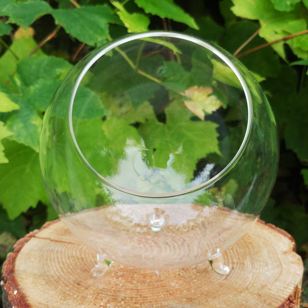 Footed Terrarium - Large