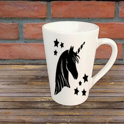 Unicorn Star Mug Coffee Cup Gift Any Color