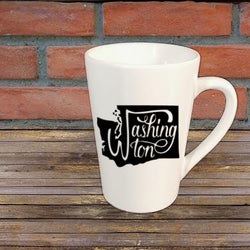 Washington State Mug Coffee Cup Gift Home Decor Custom Colors