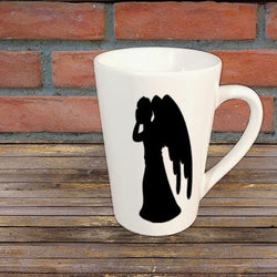 Weeping Angel Horror Mug Coffee Cup Home Decor Gift Any Color