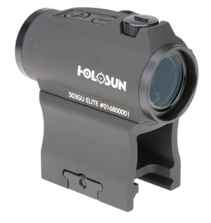 Holosun HE503GU-GR Elite Green Circle Dot Sight - MSR Arms