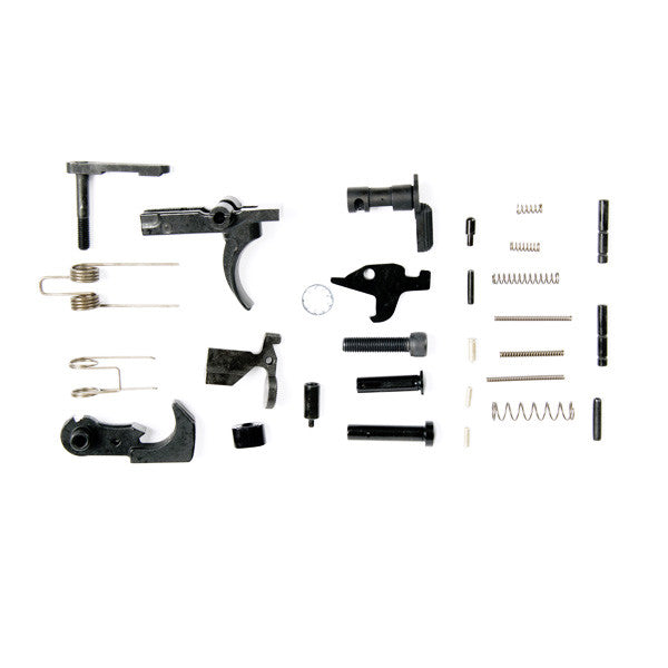 LBE Unlimited AR-15 Builders Lower Parts Kit - MSR Arms