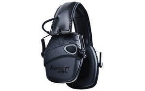 Howard Leight Impact Sport Tactical Black Earmuff - MSR Arms