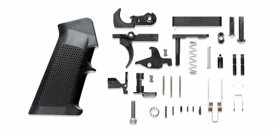 Phase 5 AR-15 Lower Receiver Parts Kit - MSR Arms