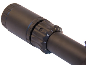 Shepherd Scopes Rugged Series Scope 3-9x40 closeup of adjustment