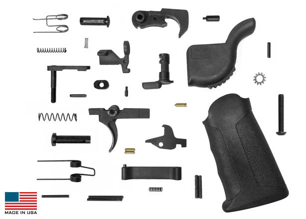KE Arms Enhanced AR-15 Lower Parts Kit - MSR Arms