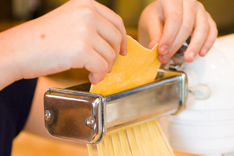 Cooking with Kids: Fresh Pasta Workshop