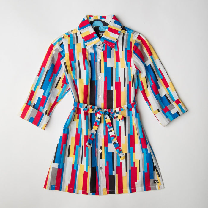 De Stijl Shirt Dress