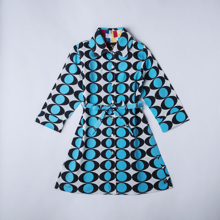 Electric Eye Shirt Dress