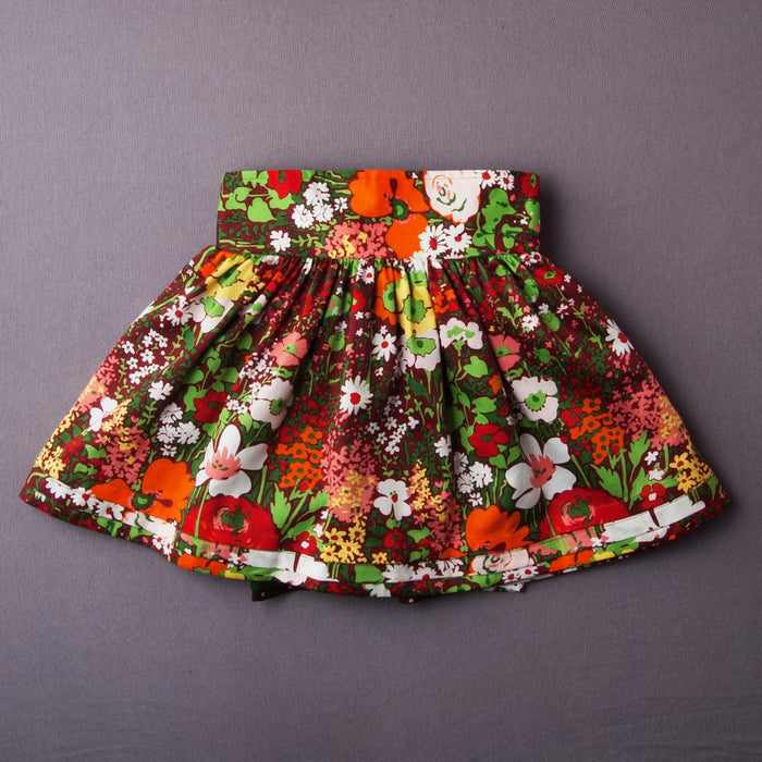 Prairie Reversible Dirndl Wrap Skirt