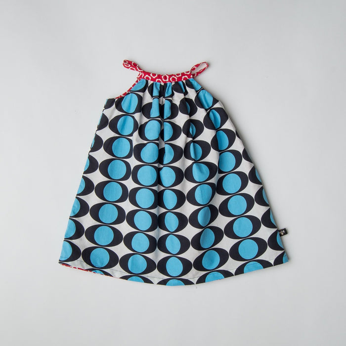 Electric Eye Reversible Swing Dress