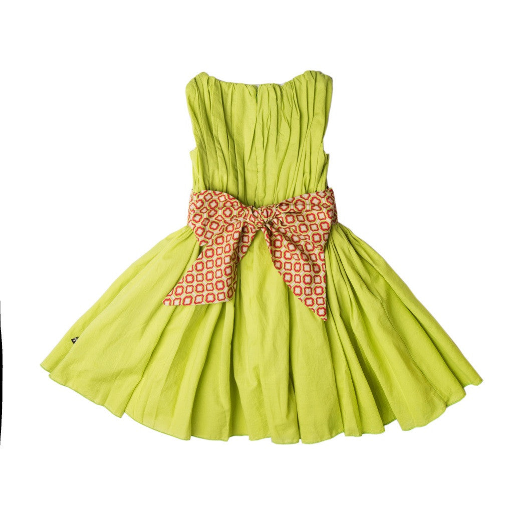 Green Allena Degas Dress