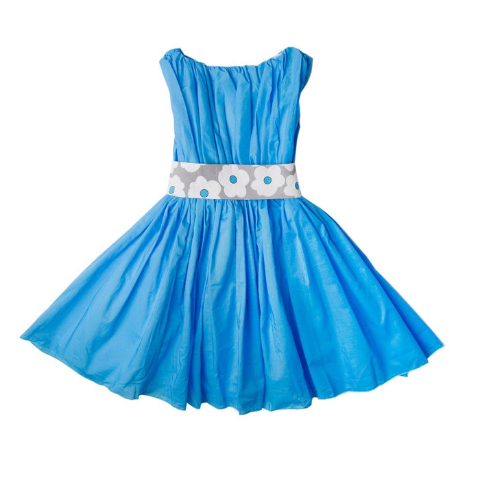 Blue Edelweiss Degas Dress