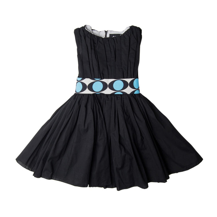 Black Electric Eye Degas Dress