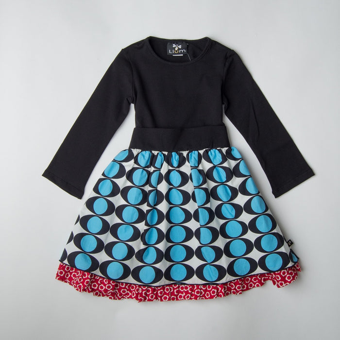 Electric Eye Petticoat Dress