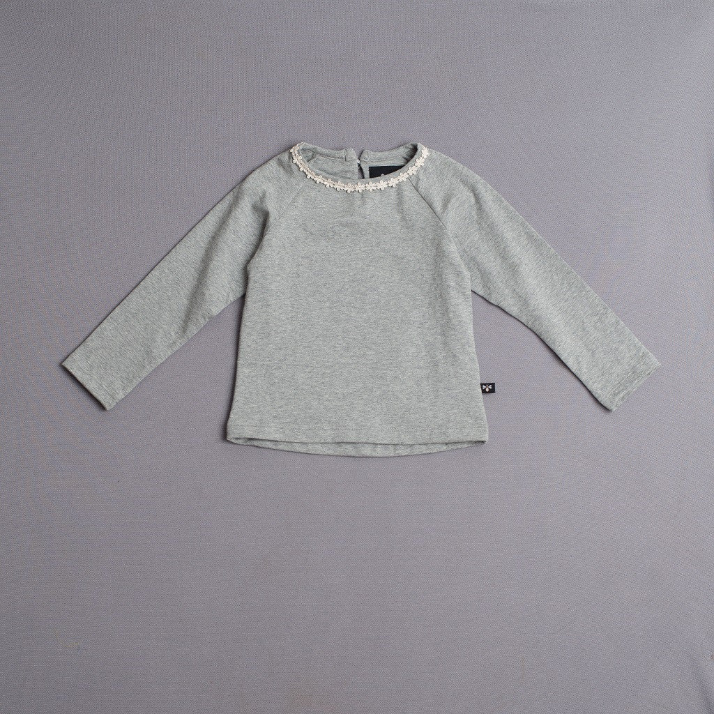 lace trim raglan top (more colors)