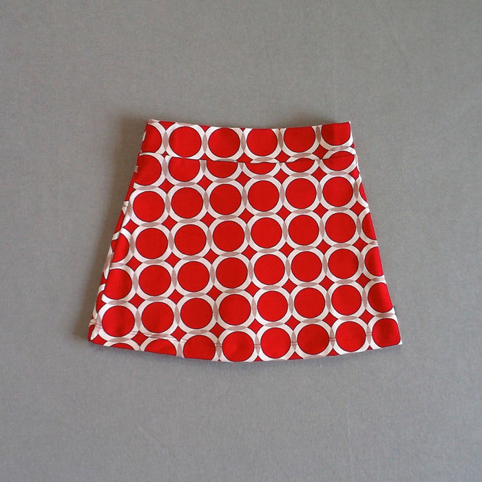 Circle Print Skort (more colors)