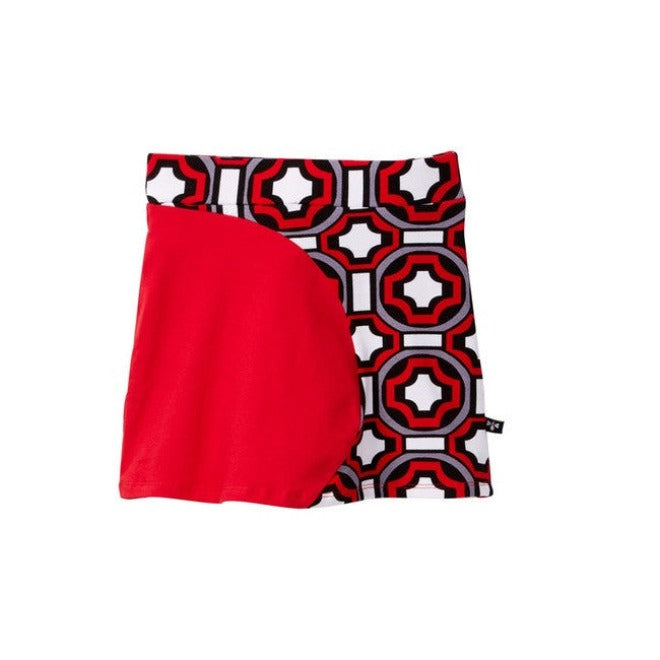 Geo Circle Panel Skort (more colors)