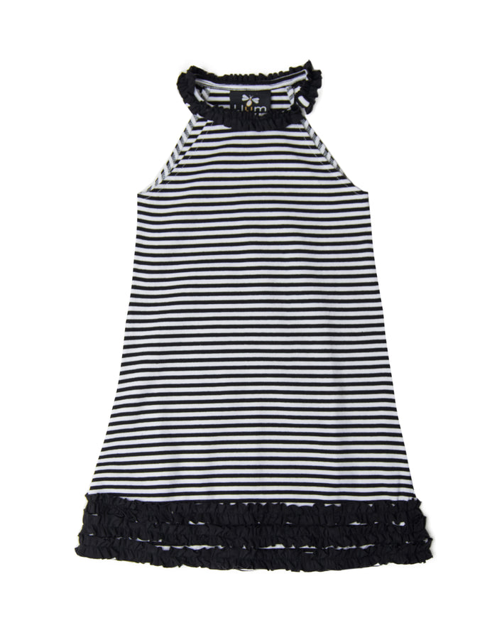 Striped Bertoia Halter Dress
