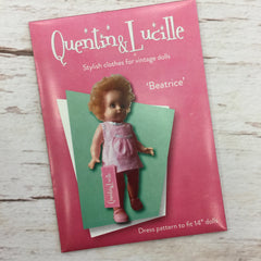 "Q&L Doll Dress Pattern ""Beatrice"""
