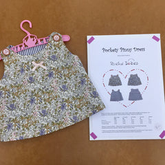 Pockety Pinny Dress Pattern - Ruche Babes