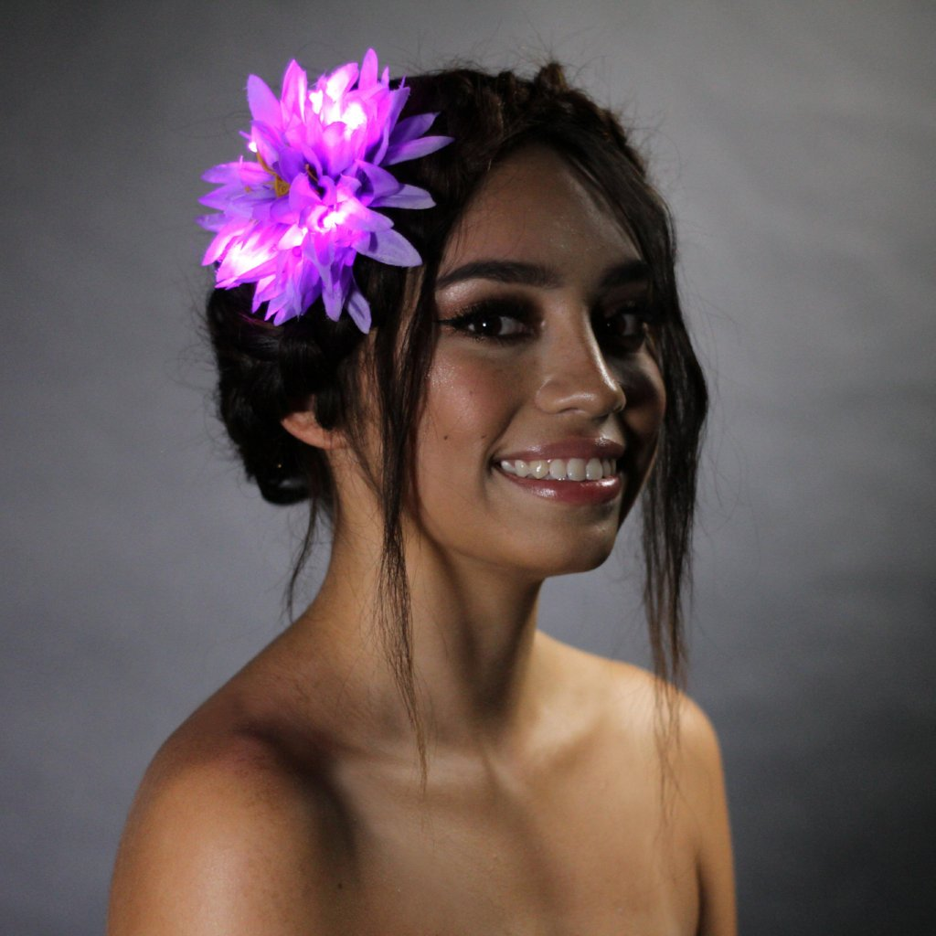 4 Pack Light Up Hair Flowers-LittleLightLab