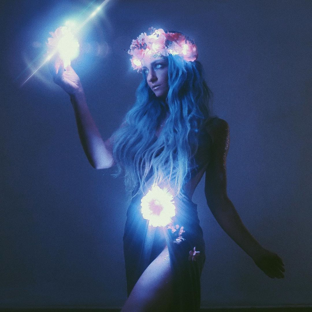 Midsummer Night Light Up Flower Crown