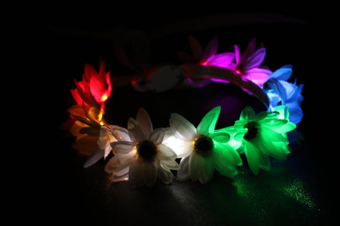 Light Up Flower Crown-LittleLightLab