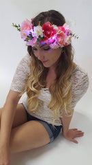 Midsummer Night Light Up Flower Crown-LittleLightLab