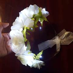 Light Up Flower Crown Bachelorette Party Pack (3 Flower Crowns included)-LittleLightLab