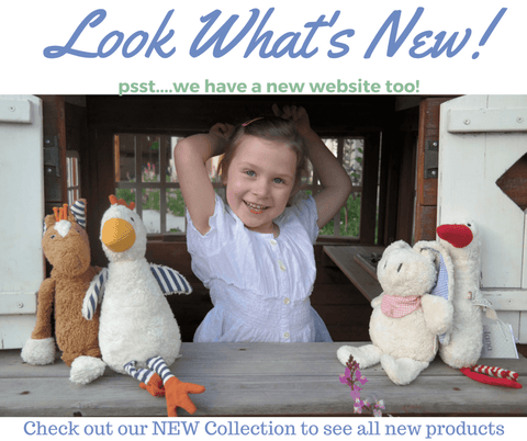 Look What's New Girl with Organic Toys