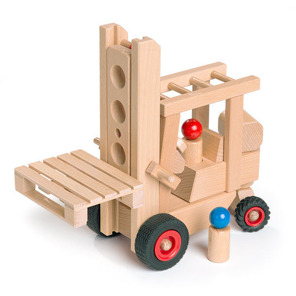 Fagus Wooden Forklift Truck - Made in Germany