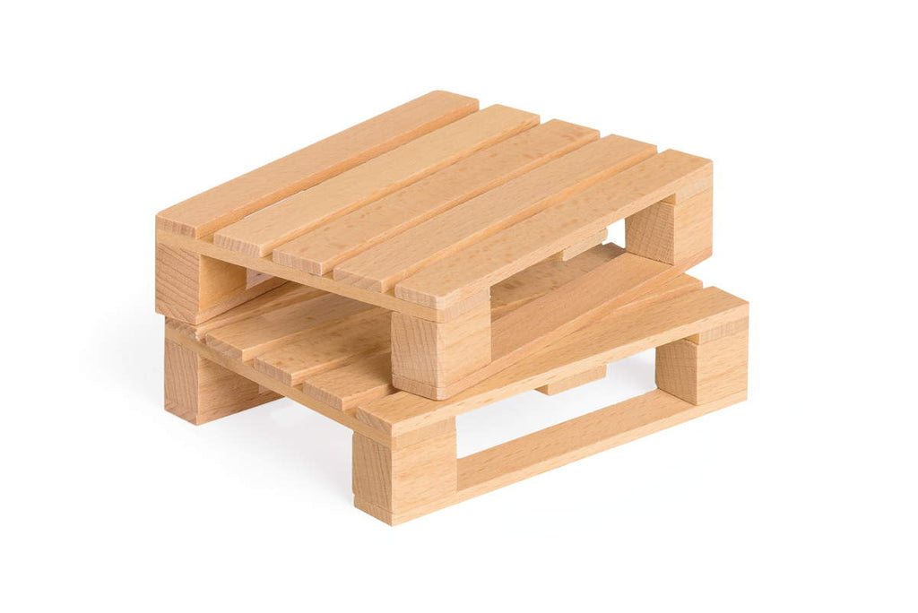 Fagus Wooden Euro Pallets (Two) - Made in Germany
