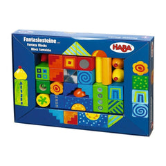 Fantasy Blocks by Haba - challenge and fun natural toys - 2