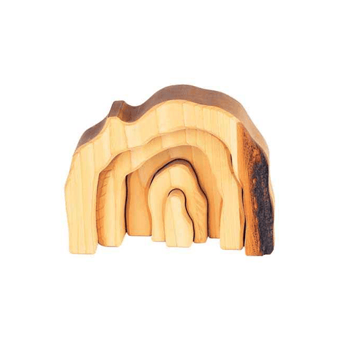 "Natural Waldorf ""Grotto"" or Cave Blocks - challenge and fun natural toys"