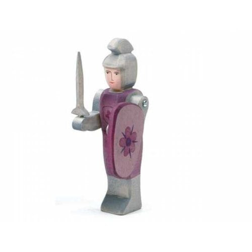 Ostheimer Knight Figurine Standing Red