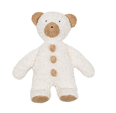 Efie Organic Cotton Teddy Bear Filled with Sheep's Wool 11""