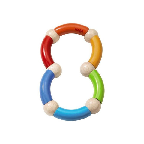 Haba Color Snake Rattle Clutching Toy - challenge and fun natural toys - 1