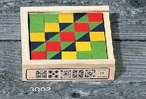 Atelier Fischer Mosaic Block Set in Wooden Case - 25 Blocks-Atelier Fischer-Challenge & Fun, Inc.