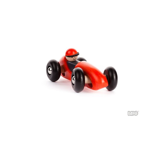 Left Right Turning Race Car by Bajo - challenge and fun natural toys - 1
