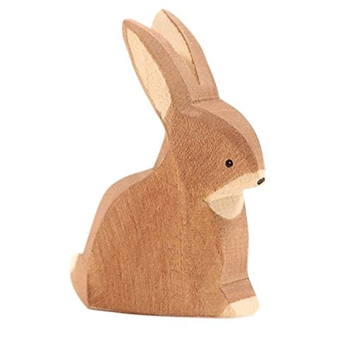 Ostheimer Wooden Rabbit, Sitting