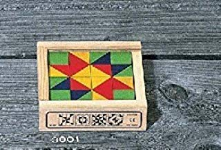 Atelier Fischer Mosaic Block Set in Wooden Case - 16 Blocks-Atelier Fischer-Challenge & Fun, Inc.