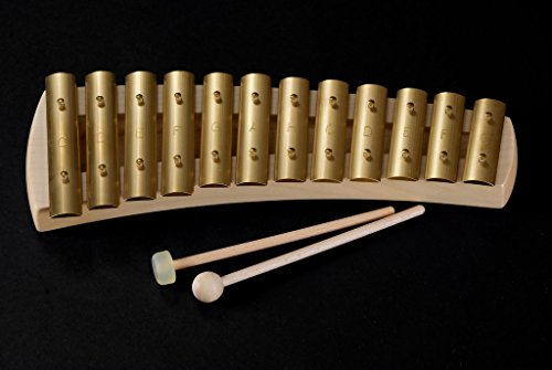 Auris 12 Note Diatonic Curved Body Glockenspiel