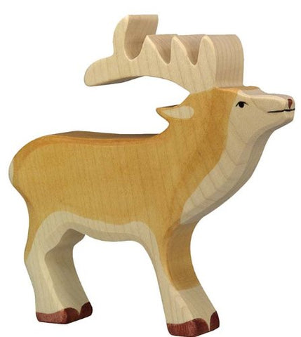 Holztiger Deer Toy Figure