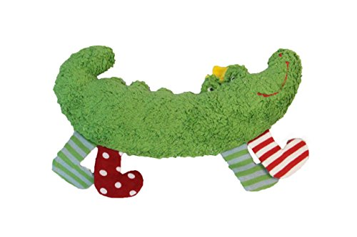 Pat & Patty Organic Cotton Crocodile Rattle